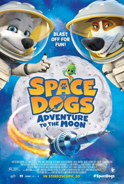 Space dogs Adventure to the Moon (2014)